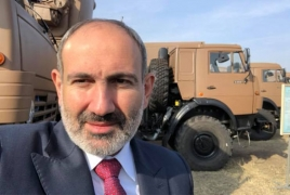 Army build-up: Armenia receives Russian Tor-M2KM systems