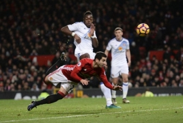 BBC: Mkhitaryan's scorpion kick among most memorable bits from 2010s