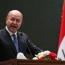 Iraq President submits resignation to Parliament