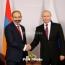 Putin sends Christmas message to Armenia's Pashinyan