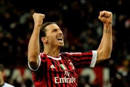 Zlatan Ibrahimovic signs six-month deal with AC Milan
