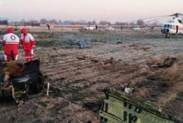 Ukrainian passenger plane crashes in Iran, leaves 176 on board dead