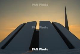Пашинян почтил память жертв армянских погромов в Баку