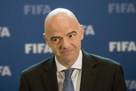 FIFA president invites Armenia football chief to Switzerland
