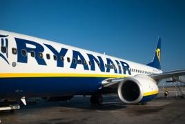 Ryanair-ի Միլան-Երևան չվերթի ժամանման ժամը փոխվել է