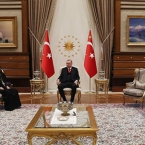New Armenian Patriarch meets Turkey's Erdogan