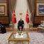 Թուրքիայի նախագահն ընդունել է Պոլսո Հայոց նորանշանակ պատրիարքին