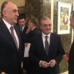 Armenian, Azerbaijani Foreign Ministers to meet by late January