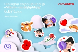 Viva-MTS unveils Viber Stickers service for subscribers