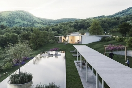 New mountain retreat will blend into landscape in Armenia
