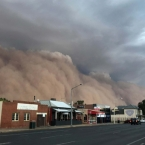 Massive dust storms in Australia hit central New South Wales