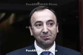 В квартире председателя Конституционного суда Армении проводят обыск