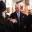 Prince Charles visits Armenian Church in Bethlehem