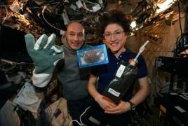 Տիեզերագնացներն առաջին անգամ թխվածքաբլիթներ են պատրաստել տիեզերքում