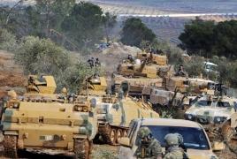 Turkish military convoy crosses Syria border, heads to Idlib: media