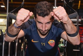 Henrikh Mkhitaryan reveals when he'll be back in action