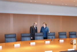 Merkel will host Armenia's Pashinyan in Berlin on Feb. 13
