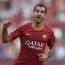 Roma's Henrikh Mkhitaryan scores against Bologna