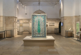 Rockefeller museum showcases celebrated Armenian ceramic artists