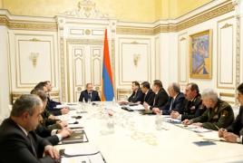 Пашинян провел совещание в связи со случаями гибели солдат в Вооруженных силах