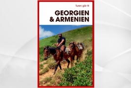 Danish-language travel book on Georgia and Armenia is on its way