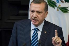 Erdogan says Turkey