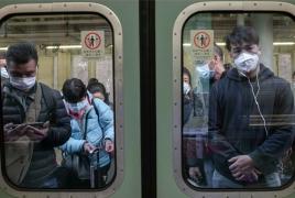 Չինաստանում կորոնավիրուսով նոր հիվանդների թիվը 24 ժամում քառակի կրճատվել է