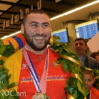 Armenian lifter a runner-up at IWF Lifter of the Year competition