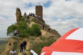 Վրաց հոգևորականներն ահազանգում են՝ ադրբեջանցիները Դավիթ Գարեջիում փոփոխություններ են անում