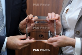 Ameriabank earns two IFC Awards for achievements in trade finance sector