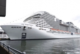 Cruise ship denied entry in two ports over coronavirus fears