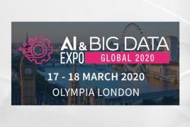ՀՀ-ն  միասնական տաղավարով կմասնակցի Լոնդոնի AI & Big data EXPO ցուցահանդեսին