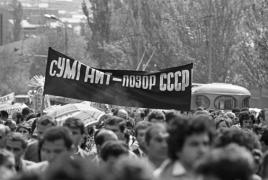 Посол Армении обратился в Генпрокуратуру РФ из-за клеветы о сумгаитском погроме в СМИ