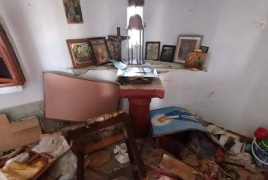 Greek church in Lesbos reportedly vandalized by refugees