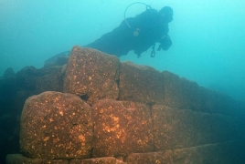 Ruins of 3,000-year-old Armenian castle found in Turkey lake