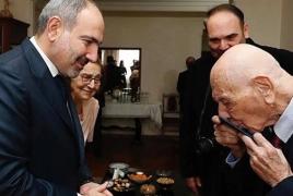 105-year-old Italian granted Armenian citizenship