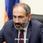 Coronavirus: Armenia PM, European Council chief refrain from handshake