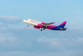 Wizz Air 20 марта выполнит свой первый рейс из Вены в Ереван
