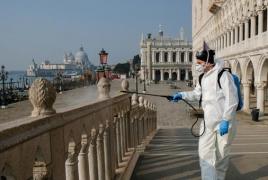 Coronavirus deaths spike as Italy hikes fines for violating lockdown