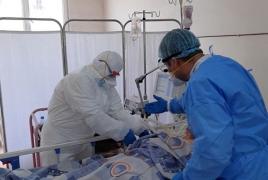 Armenia reports first death from coronavirus