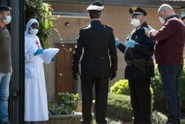 Իտալիայում մեկ օրում կորոնավիրուսից 662 մարդ է մահացել. Reuters
