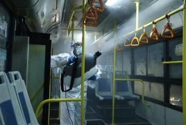 Armenia suspends public transport to combat coronavirus outbreak