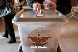 Artsakh presidential election to go to second round