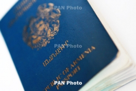 """Armenia climbs to 80th spot in new """"powerful passports"""" index"""