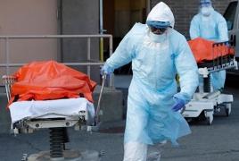 США заняли второе место по числу жертв коронавируса
