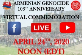 ANCC to commemorate Armenian Genocide anniv. via live broadcast