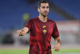 Roma seeking to extend Henrikh Mkhitaryan loan: media
