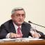 Սերժ Սարգսյան․ Ապրիլյանի հանձնաժողովին գալն արդարացված որոշում էր