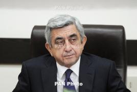 Сержа Саргсяна допросили в СНБ Армении