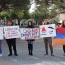 Կալիֆոռնիայի ուսանողների լուռ բողոքի ցույցը՝ Հայոց ցեղասպանության հերքման դեմ